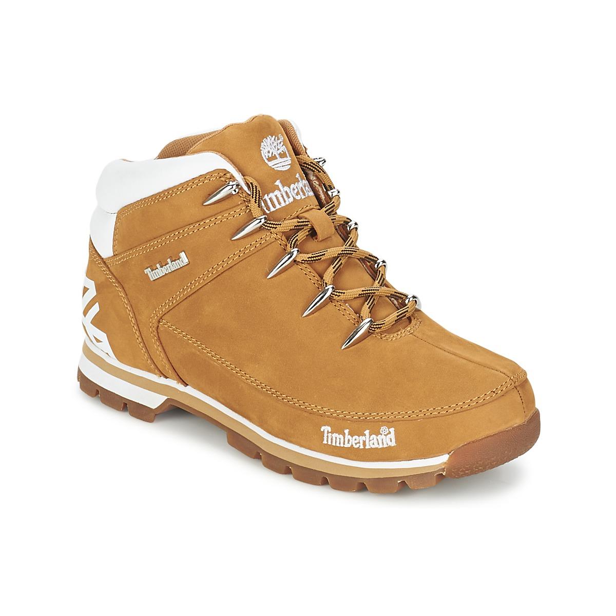 Zapatos Hombre Botas de caña baja Timberland EURO SPRINT HIKER Trigo    Nubuck 4c7545a0dbd2