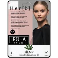 Belleza Mujer Mascarillas & exfoliantes Iroha Nature Cannabis Tissue Face Mask Nourishing & Relaxing 1 u