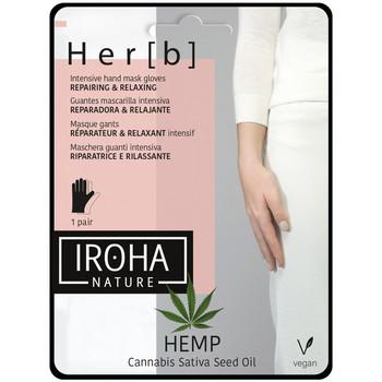 Belleza Mujer Cuidados manos & pies Iroha Nature Cannabis Hand & Nail Mask Glove Repairing & Relaxing 1 pair