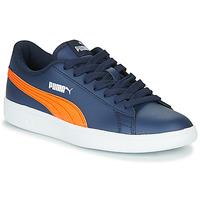 Zapatos Niños Zapatillas bajas Puma SMASH JR ME Marino