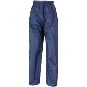textil Niños Pantalones de chándal Result R226J Azul real
