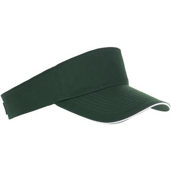Accesorios textil Gorra Sols 01196 Verde bosque/blanco