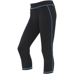 textil Mujer Leggings Awdis JC086 Negro/azul