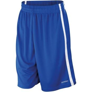textil Hombre Shorts / Bermudas Spiro S279M Azul royal/Blanco