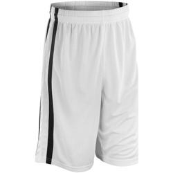 textil Hombre Shorts / Bermudas Spiro S279M Blanco/Negro