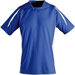 textil Niños Camisetas manga corta Sols 01639 Azul/blanco