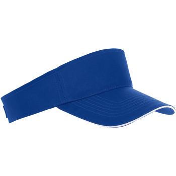 Accesorios textil Gorra Sols 01196 Azul royal/blanco