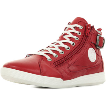 Zapatos Mujer Zapatillas altas Pataugas Palme F2E Rojo