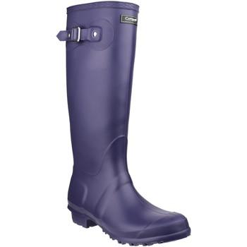 Zapatos Botas de agua Cotswold  Púrpura