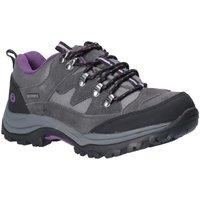 Zapatos Mujer Senderismo Cotswold  Gris/Púrpura