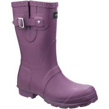 Zapatos Mujer Botas de agua Cotswold  Púrpura
