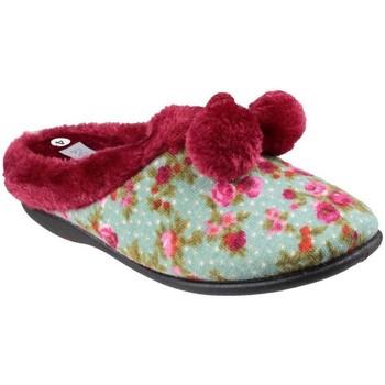 Zapatos Mujer Pantuflas Mirak  Floral