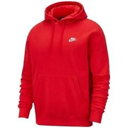 textil Hombre Sudaderas Nike M Nsw Club Hoodie PO BB Rojos