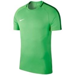 textil Hombre camisetas manga corta Nike Dry Academy 18 Verdes