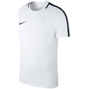 textil Hombre camisetas manga corta Nike Dry Academy 18 Blanco
