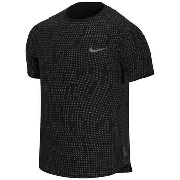 textil Hombre camisetas manga corta Nike Pro Breathe Negros