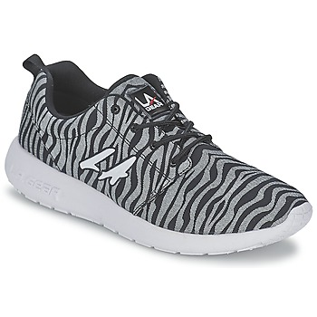 Zapatos Mujer Zapatillas bajas L.A. Gear SUNRISE Gris / Negro