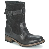 Zapatos Mujer Botas de caña baja Pataugas DECK Negro
