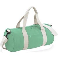 Bolsos Bolso de viaje Bagbase BG140 Blanco/verde