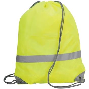 Bolsos Mochila de deporte Shugon SH5892 Amarillo fluorescente