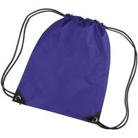 Bolsos Niños Mochila de deporte Bagbase BG10 Púrpura
