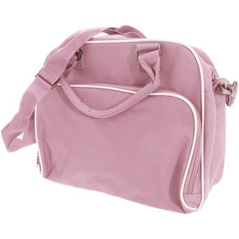 Bolsos Niños Cartable Bagbase BG145 Rosa/gris