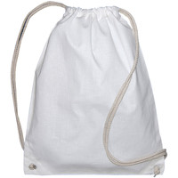 Bolsos Niños Mochila de deporte Bags By Jassz 60257 Blanco