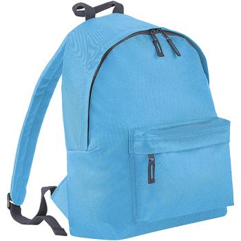 Bolsos Mochila Bagbase BG125 Azul/gris grafito