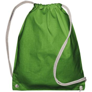 Bolsos Niños Mochila de deporte Bags By Jassz 60257 Verde claro