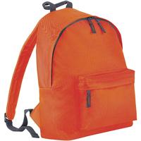Bolsos Mochila Bagbase BG125 Naranja/gris grafito
