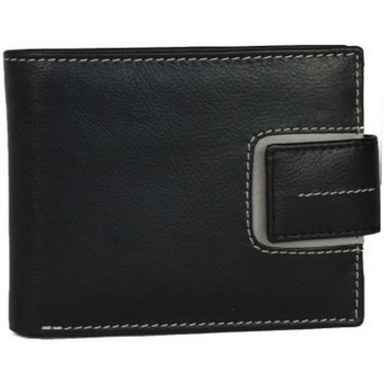Bolsos Hombre Cartera Eastern Counties Leather  Negro/ Gris