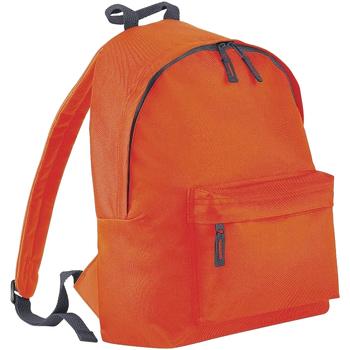 Bolsos Mochila Bagbase BG125J Naranja/gris grafito