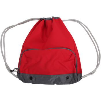 Bolsos Niños Mochila de deporte Bagbase BG542 Rojo