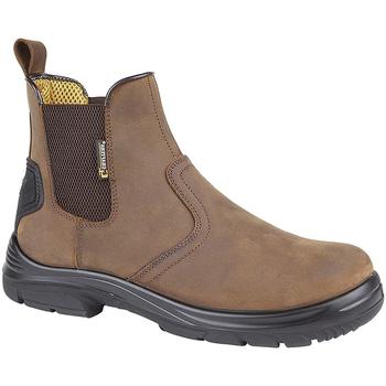 Zapatos Hombre Botas de caña baja Grafters  Marrón Oscuro