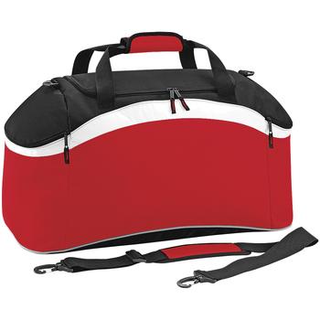 Bolsos Mochila de deporte Bagbase BG572 Rojo/negro/blanco