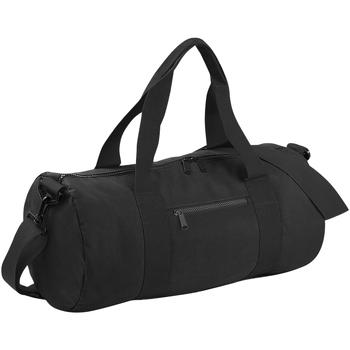 Bolsos Bolso de viaje Bagbase BG140 Blanco/Negro