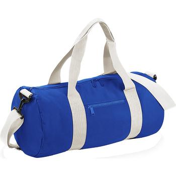 Bolsos Bolso de viaje Bagbase BG140 Azul/blanco
