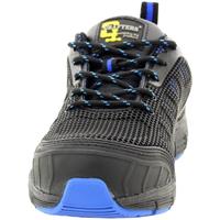 Zapatos Hombre zapatos de seguridad  Grafters  Negro/Azul