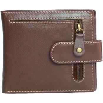 Bolsos Hombre Cartera Eastern Counties Leather  Marrón
