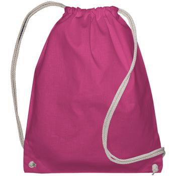 Bolsos Niños Mochila de deporte Bags By Jassz 60257 Magenta