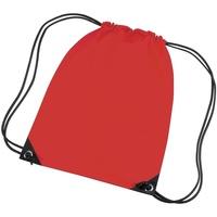 Bolsos Niños Mochila de deporte Bagbase BG10 Rojo brillante