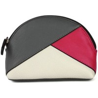 Bolsos Mujer Monedero Eastern Counties Leather  Gris/Rosa/Blanco