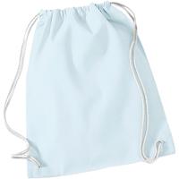 Bolsos Niños Mochila de deporte Westford Mill W110 Azul pastel/Blanco