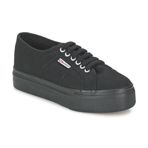 Zapatos Mujer Zapatillas bajas Superga 2791 COTEW LINEA Negro