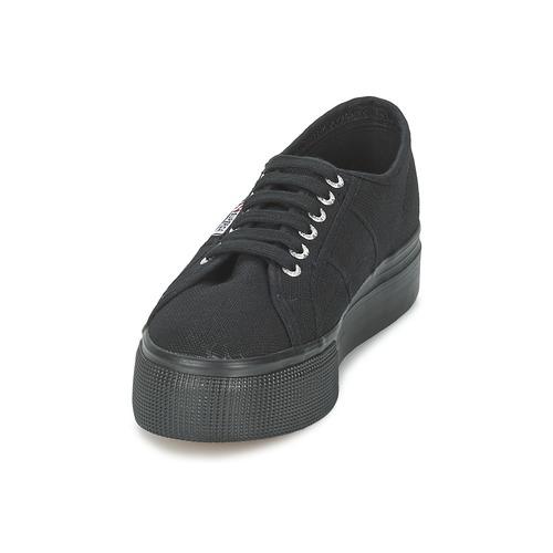 Los zapatos más populares para hombres y mujeres Zapatos especiales Superga 2791 COTEW LINEA Negro
