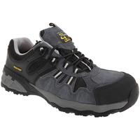 Zapatos Hombre Zapatillas bajas Grafters  Gris/Negro