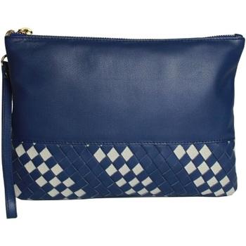 Bolsos Mujer Bolso pequeño / Cartera Eastern Counties Leather  Azul/Gris Piedra