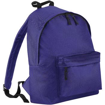 Bolsos Mochila Bagbase BG125 Púrpura