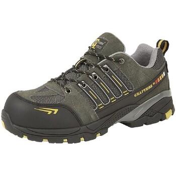 Zapatos Hombre zapatos de seguridad  Grafters  Gris/Amarillo
