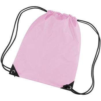 Bolsos Niños Mochila de deporte Bagbase BG10 Rosa clásico